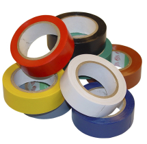 Vld1839 Hazard Tape Red (x6) R&W 50mm x 33
