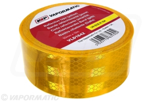 VLD1842 Reflective tape  50mm x 10m