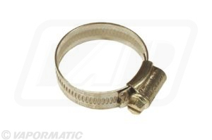 Stainless steel hose clip 30-40mm (pack of 10)
