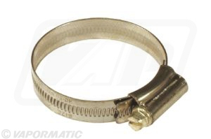 Stainless steel hose clip 40-55mm (pack of 10)