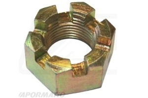 VLG3307 - UNF slotted nut 3/4