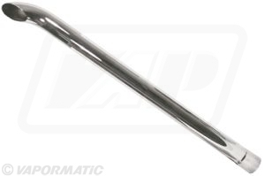 "Exhaust pipe Chrome 3"" (76mm)"