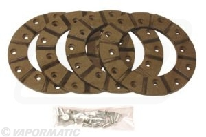 Friction disc lining kit 140mm