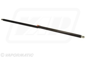 Tank cover gas strut