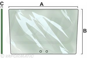 VPM7164 - Front Windscreen Clear