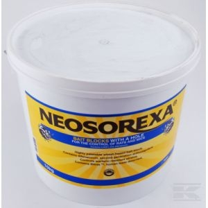 Neosorexa Rat Bait Block 10kg Tub